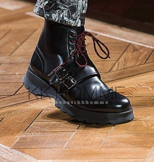 Dior Homme Monk Strap Boots (FW16)