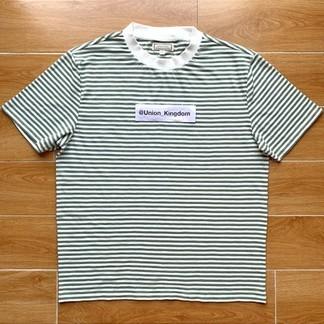 Guess T-Shirt (Green Striped)