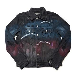 Amiri Wolf Denim Jacket