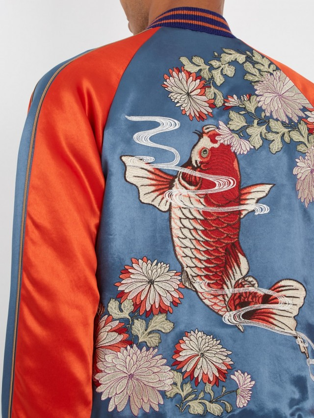 Gucci Koi Goldfish Jacket