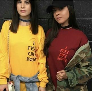 """Kanye West """"I Feel Like Pablo"""" Longsleeve T-Shirt"""