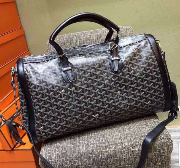 Goyard Duffle Bag Grey