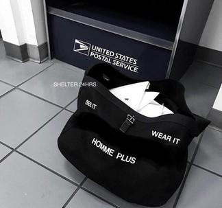 """CDG """"Homme Plus"""" Big Shoulder Bag"""