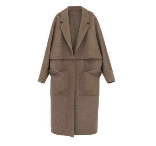 Alpaca/wool Coat