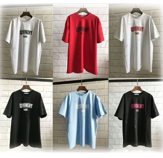Givenchy Distressed T-Shirts