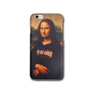 Trasher Mona Lisa iPhone Case