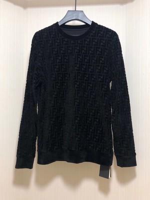Fendi All Over Logo Crewneck Sweater