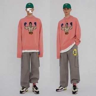 "Ader Error ""Rocky Balboa"" Knitted Sweater"