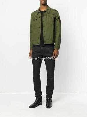SLP Military Patch Denim Jacket