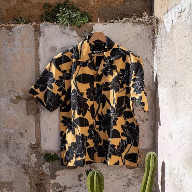Jacquemus sunflower printed shirt short-sleeved