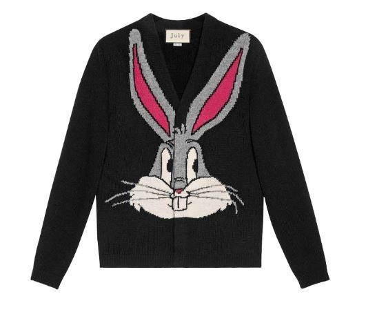 Guccy Bunny Cardigan