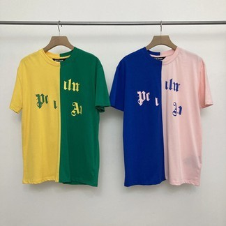 Palm Angels Split Broken Logo Nba T-Shirt