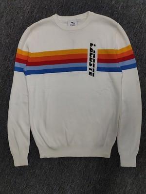 Lacoste Striped Vintage Sweater
