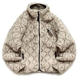 Kapital Do-Gi Sashiko Boa Fleece Jacket