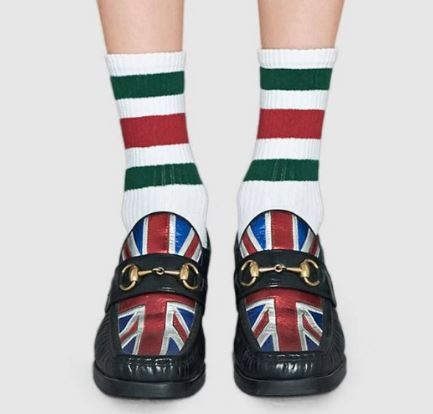 Gucci white socks