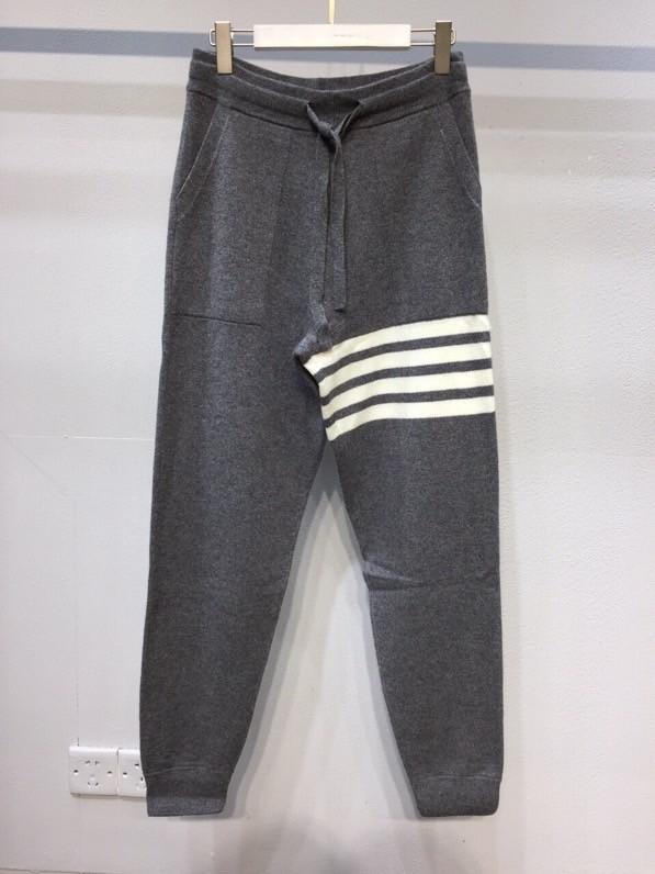 TB cashmere jogger dark gray