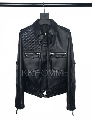 Dior Homme 07Ss Leather Jacket