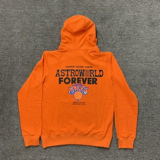 """Astroworld x New York Knicks """"Astroworld Forever"""" Hoodie (March 02 2019)"""