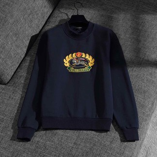 Burberry Archive Embroidered Horse 1991 Reissued Crewneck