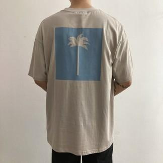 Palm Angels T-Shirt (Dark Pink, Dark Apricot, Mint Blue, Black )