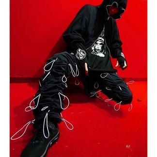 Travis Scott Drawstring Pants