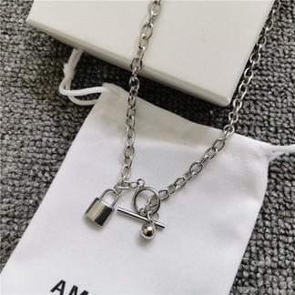 Ambush Lock/Heart Necklace
