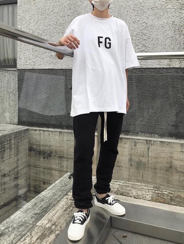 FEAR OF GOD SHORT SLEEVE 'FG' 3M TEE