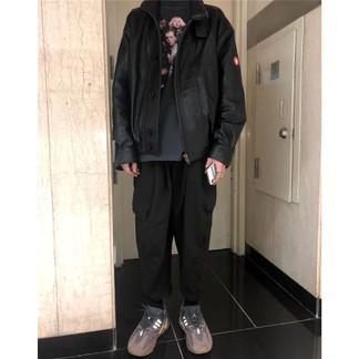 Cav Empt Leather Jacket