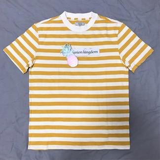 Yellow Striped Guess T-Shirt