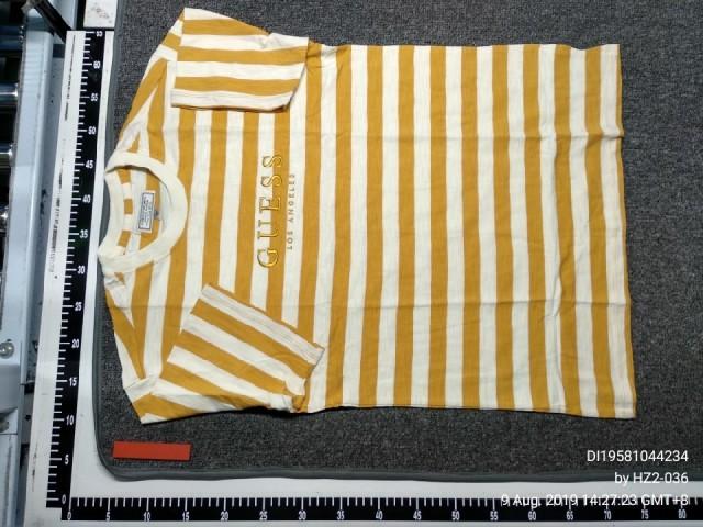 Vintage capsule yellow stripe tee