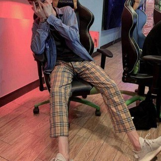Burberry inspired Pants