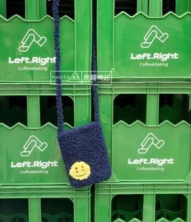 CPFM Smiley Fur Tote Bag