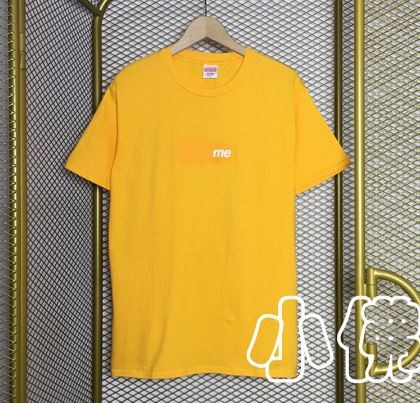 2000 Supreme Orange Box Logo Tee