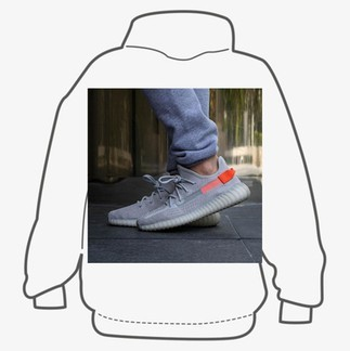 """Yeezy Boost 350V2 """"Tail Light"""" (FX9017) Sneakers"""