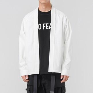 Acronym J72-Ds White Kimono Jacket