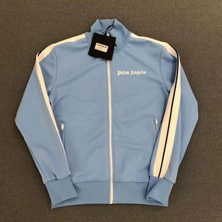 Palm Angels Baby Blue Trackjacket