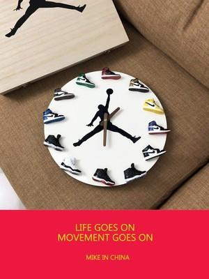"""Air Jordanikers 12"""" Wall Clock"""