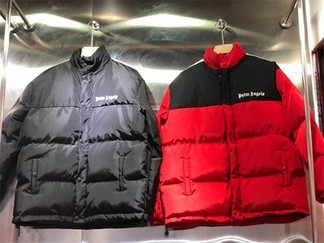Palm Angels Down Jacket (red, black, yellow)