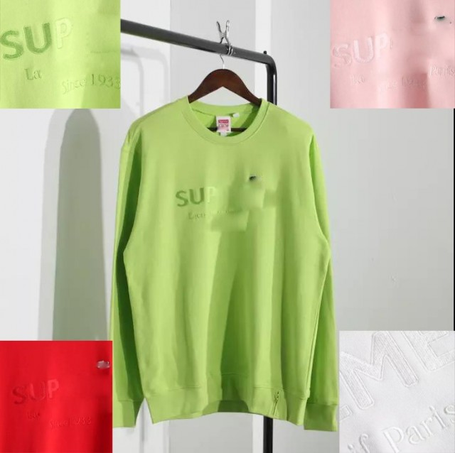 Supreme x Lacoste SS18 Sweater
