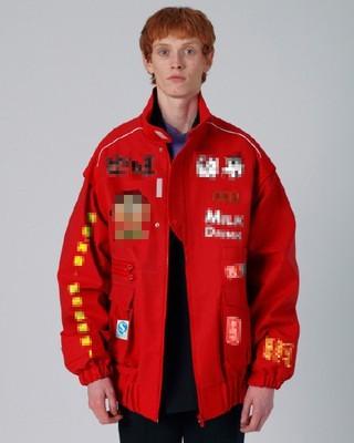 Ader Error Red Jacket