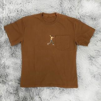 Travis Scott x Astroworld T-Shirt (Brown 2019)