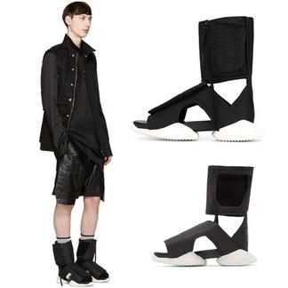 Rick Owen x Adidas Cargo Sandals