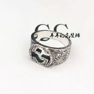 Gucci Simple Logo Ring