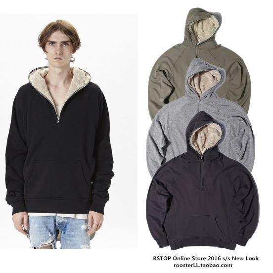 Fear of God Sherpa Half-zip Jacket