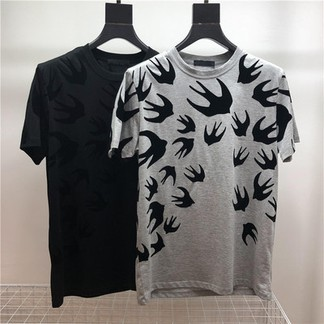Alexander McQueen Swallow Bird T-Shirt