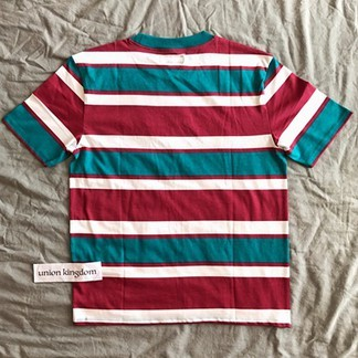 """Guess """"Los Angeles"""" Striped T-Shirt"""