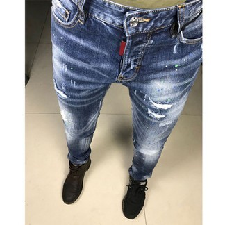 Dsquared Paint Splatter Jeans