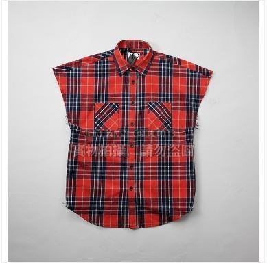 4th Collection Sleeveless Flannel
