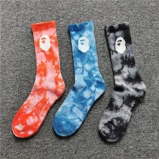 Bape Tie-Dye Socks