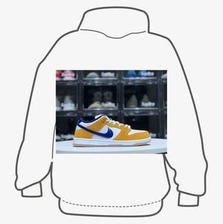 """Nike SB Dunk """"Laser Orange"""" Sneakers"""